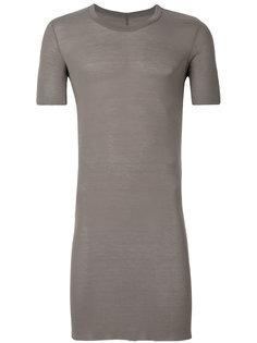 удлиненная приталенная футболка Rick Owens