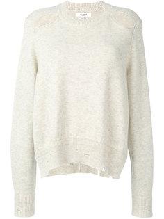 свитер с рваными деталями Isabel Marant Étoile