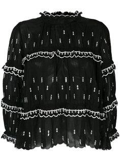 ярусная блузка с оборками  Isabel Marant Étoile