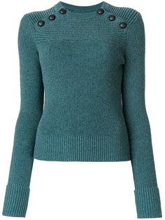 свитер в рубчик с пуговицами  Isabel Marant Étoile