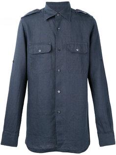 рубашка с эполетами Tom Ford