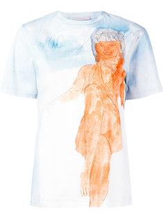 футболка с рисунком Christopher Kane