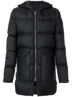 пуховое пальто Rick Owens