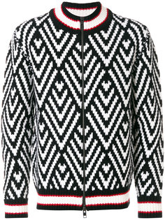 свитер с молнией спереди Ermanno Scervino