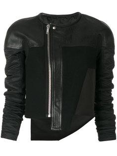 укороченная байкерская куртка  Rick Owens