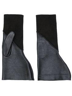 фактурные перчатки Rick Owens