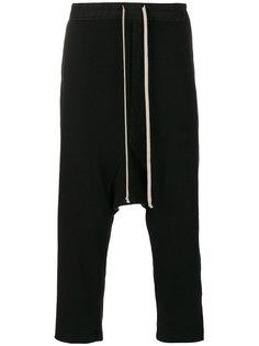 спортивные брюки с эластичным поясом Rick Owens DRKSHDW