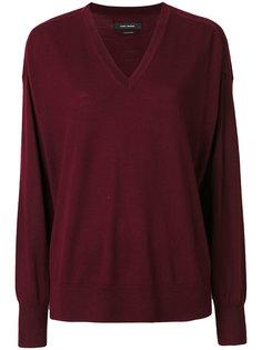 пуловер с V-образным вырезом Isabel Marant