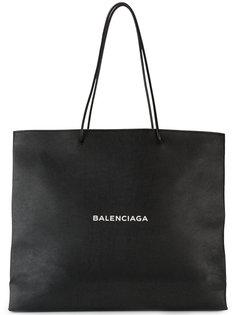 большая сумка-шоппер North South Balenciaga