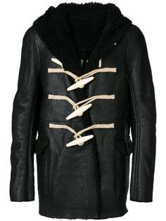 пальто из овчины Rick Owens