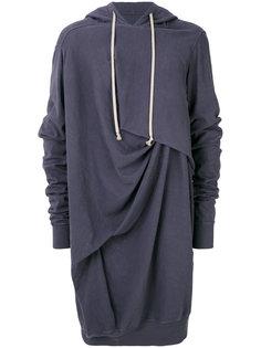 oversized draped hoodie Rick Owens DRKSHDW