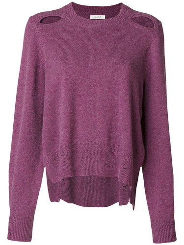 пуловер с рваными деталями 'Étoile' Isabel Marant Étoile
