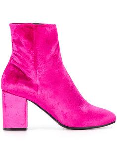 ботинки на блочном каблуке Balenciaga