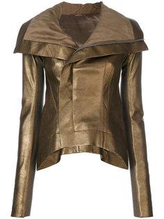 куртка с металлическим финишем Rick Owens