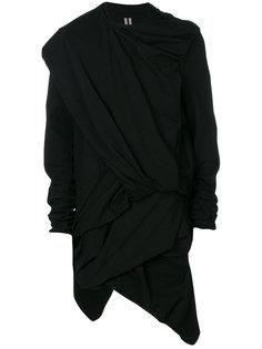 свитер с драпировкой Rick Owens