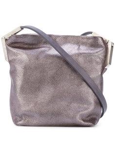 металлическая сумка через плечо Rick Owens