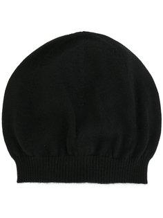 шапка в рубчик Rick Owens