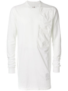 tonal patchwork T-shirt Rick Owens DRKSHDW