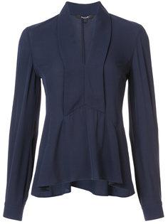 расклешенная блузка с V-образным вырезом Derek Lam