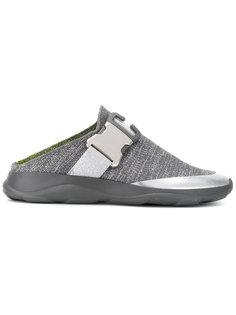 кроссовки без задника с вязаной отделкой Christopher Kane