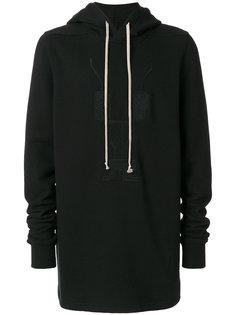 embroidered hoodie Rick Owens DRKSHDW