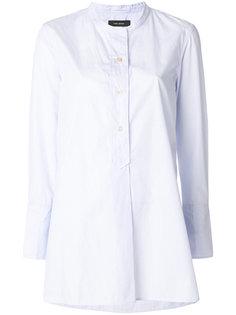 длинная рубашка без воротника  Isabel Marant