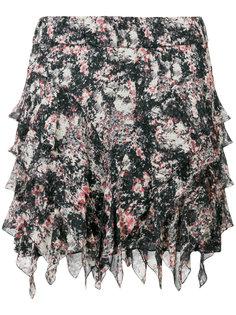 мини-юбка с оборками  Isabel Marant Étoile