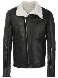 куртка из овчины Rick Owens