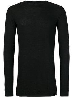 свитер с круглым вырезом  Rick Owens