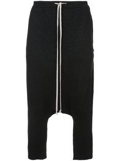 укороченные кашемировые брюки Rick Owens