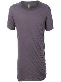 футболка со сборками Rick Owens