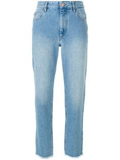 брюки слим с необработанным краем  Isabel Marant Étoile