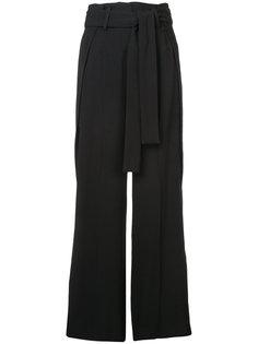 брюки палаццо с ремнем на талии Derek Lam