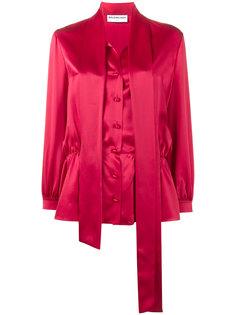 блузка с декоративным шарфом Lavalliere Balenciaga