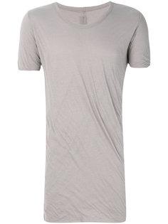 удлиненная футболка Rick Owens