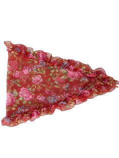шарф-капюшон с цветочным принтом Losange  Balenciaga