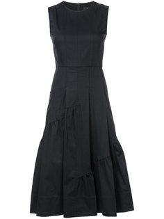 платье миди с панельным дизайном Derek Lam