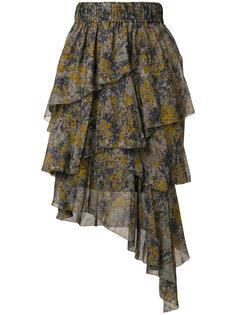 юбка с оборками Jeezon Isabel Marant Étoile