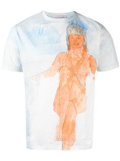 футболка с принтом Christopher Kane