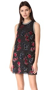Anna Sui Rose Shift Dress