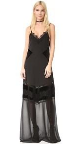 ANINE BING Long Slip Dress