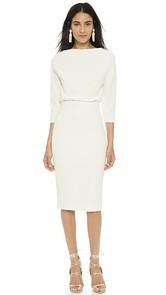 Badgley Mischka Collection Long Sleeve Dress