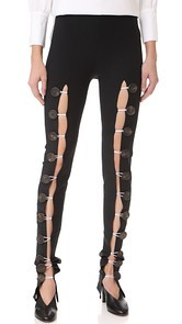 A.W.A.K.E. Buttoned Leggings Awake
