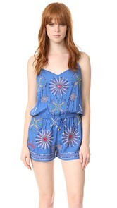 Bindya Mix Embroidery Romper