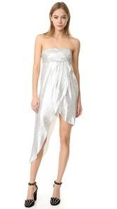 Baja East Asymmetrical Dress