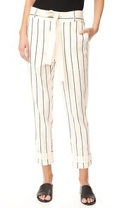 Derek Lam 10 Crosby Drawstring Utility Pants