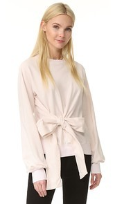 Clu Long Sleeve Sweatshirt with Bow