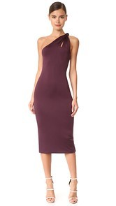 Cushnie Et Ochs One Shoulder Dress with Twisted Strap