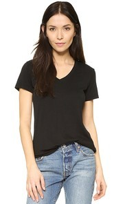 Cotton Citizen The Mykonos V Neck Tee