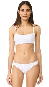 Dion Lee Laced Coil Bandeau Top